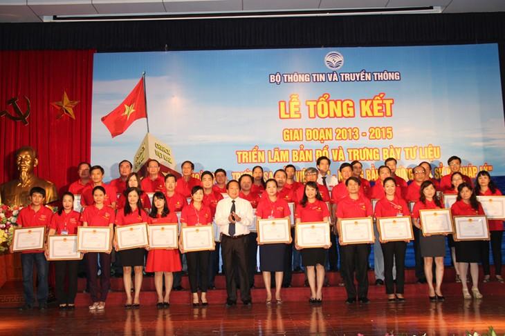 สรุปงานนิทรรศการแผนที่และเอกสารเกี่ยวกับหว่างซา เจื่องซ่าในช่วงปี 2013-2015 - ảnh 1