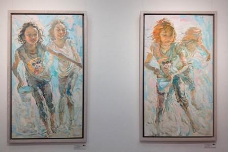 """จิตรกร Chua Cheng Koon """"ภาพวาดทุกภาพของผมคือผลงานชิ้นเอก"""" - ảnh 2"""