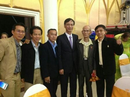 สมาคมชาวเวียดนามที่อาศัยในต่างประเทศสาขาจังหวัดสกลนครได้จัดงานฉลองปีใหม่ - ảnh 1