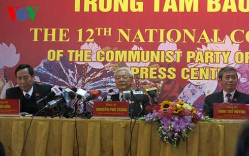 การประชุมสมัชชาใหญ่พรรคคอมมิวนิสต์เวียดนามสมัยที่ 12-การประชุมแห่งประชาธิปไตยและสามัคคี - ảnh 1