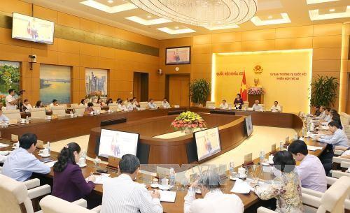 การประชุมคณะกรรมาธิการสามัญแห่งรัฐสภาครั้งที่ 50 - ảnh 1