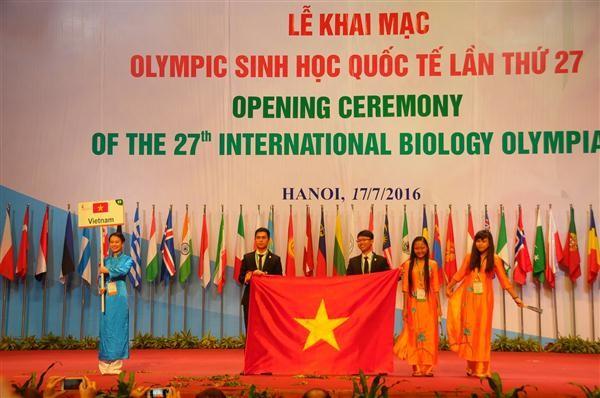 เปิดการแข่งขันชีววิทยาโอลิมปิกระหว่างประเทศครั้งที่ 27 - ảnh 1