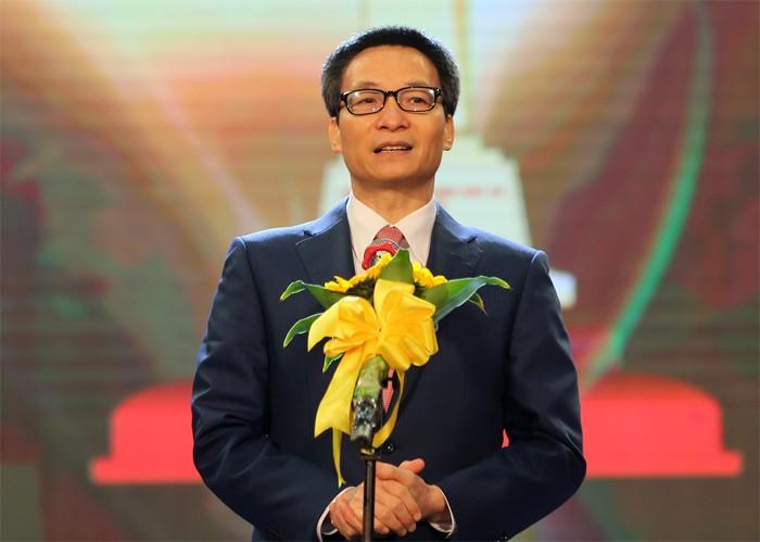 รองนายกรัฐมนตรี หวูดึ๊กดาม เข้าร่วมพิธีมอบรางวัลคุณภาพแห่งชาติ - ảnh 1