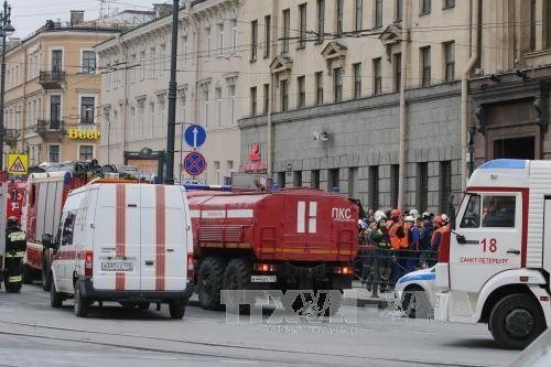 คณะกรรมการสืบสวนของรัสเซียยืนยันว่า เหตุระเบิดที่สถานีรถไฟใต้ดินเป็นเหตุระเบิดฆ่าตัวตาย - ảnh 1