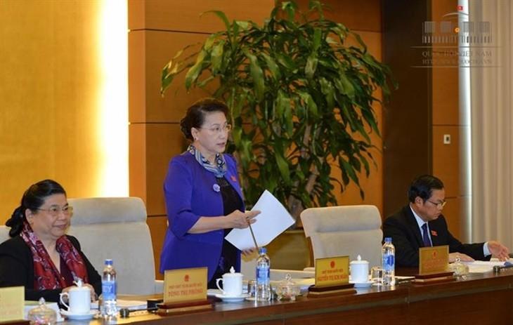 เปิดการประชุมครั้งที่ 9 คณะกรรมาธิการสามัญแห่งรัฐสภา - ảnh 1