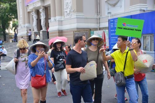 โครงการเดินเที่ยวฟรีสำหรับนักท่องเที่ยวชาวต่างชาติในกรุงฮานอย - ảnh 1