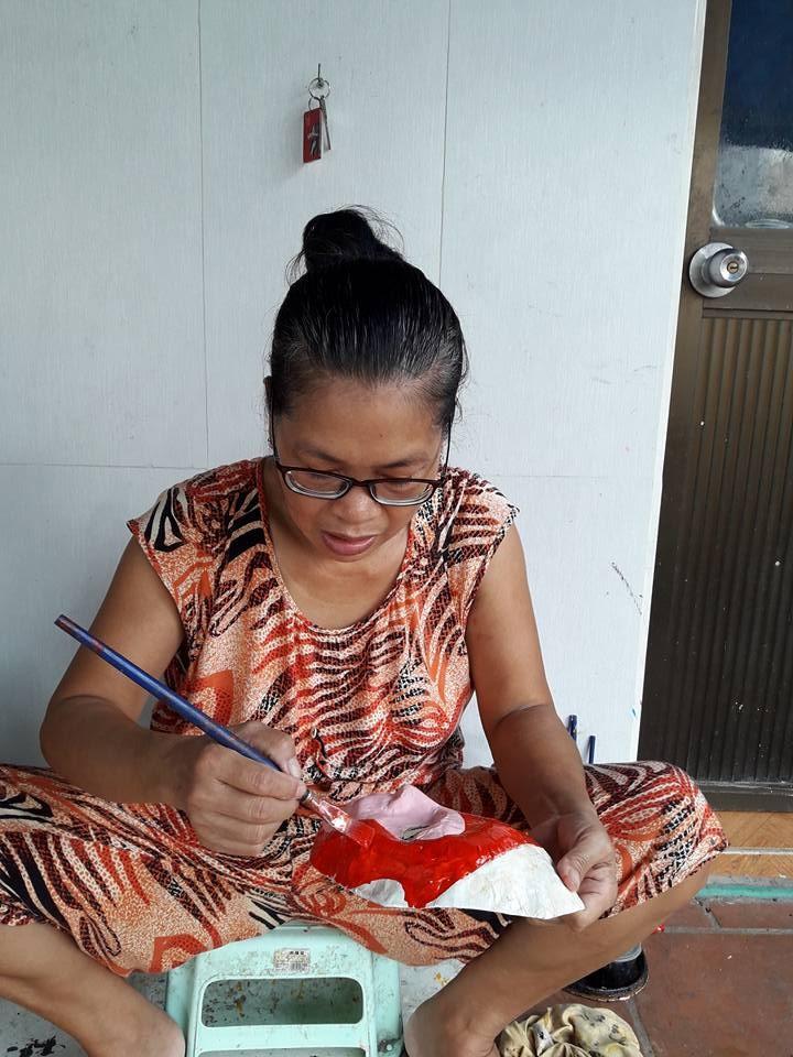 ผู้ที่อนุรักษ์อาชีพทำหน้ากากกระดาษของกรุงฮานอย - ảnh 3