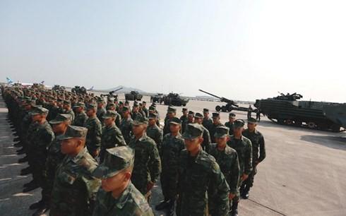 สหรัฐ สาธารณรัฐเกาหลีและไทยจัดการฝึกซ้อมทางทหาร - ảnh 1