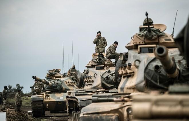 ตุรกีขู่ซีเรียเรื่องการสนับสนุน YPG/PKK - ảnh 1