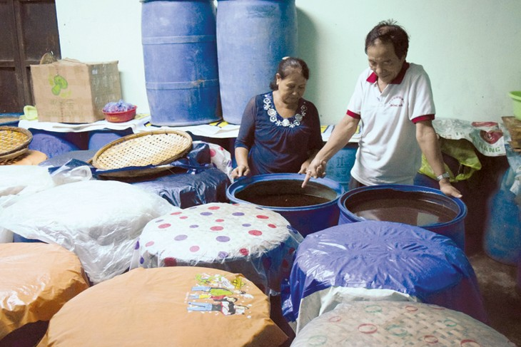 อนุรักษ์และพัฒนาหมู่บ้านผลิตน้ำปลานามโอ - ảnh 1