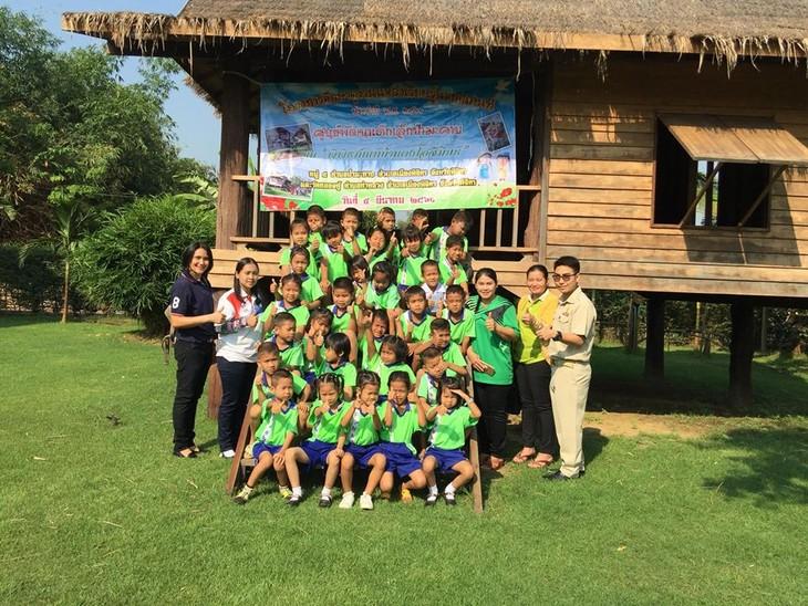 ผู้ที่มีส่วนร่วมเชื่อมสายสัมพันธ์มิตรภาพไทย-เวียดนาม - ảnh 5