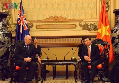 ออสเตรเลียให้ความสำคัญต่อการพัฒนาความร่วมมือกับนครโฮจิมินห์ - ảnh 1