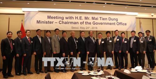 เวียดนามศึกษารูปแบบรัฐบาลอิเล็กทรอกนิกส์ของสาธารณรัฐเกาหลี - ảnh 1