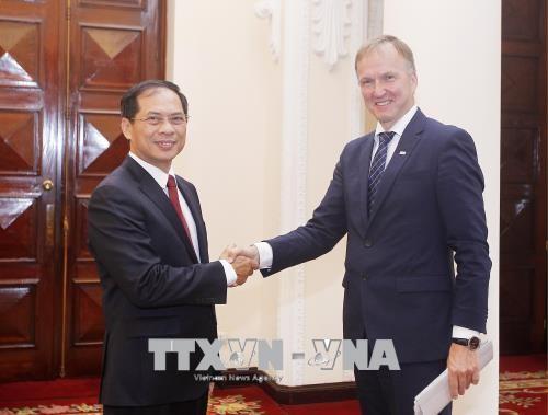 การทาบทามความคิดเห็นทางการเมืองเวียดนาม-ลัตเวีย - ảnh 1