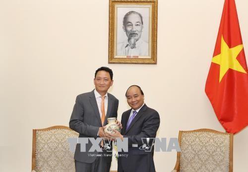นายกรัฐมนตรี เหงียนซวนฟุก ให้การต้อนรับเอกอัครราชทูตสาธารณรัฐเกาหลีประจำเวียดนามคนใหม่ - ảnh 1
