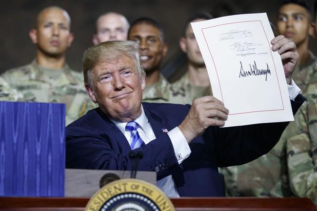 กฎหมายงบประมาณด้านกลาโหมปี 2019 ของสหรัฐ: การลงทุนครั้งสำคัญในประวัติศาสตร์กองทัพสหรัฐ - ảnh 1