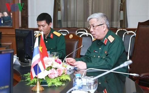 การประชุมร่วมคณะกรรมการความมั่นคง กลาโหมไทย-เวียดนามครั้งที่ 2 - ảnh 1