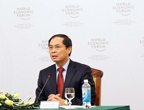 เวียดนาม-หุ้นส่วนที่น่าไว้วางใจของฟอรั่มเศรษฐกิจโลก - ảnh 1