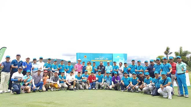 การแข่งขันกอล์ฟสานสัมพันธ์ชมรมชาวเวียดนามในประเทศไทย - ảnh 1