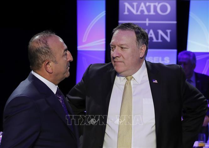 รัฐมนตรีต่างประเทศตุรกีและสหรัฐพูดคุยทางโทรศัพท์เกี่ยวกับปัญหาทวิภาคีและสถานการณ์ในซีเรีย - ảnh 1