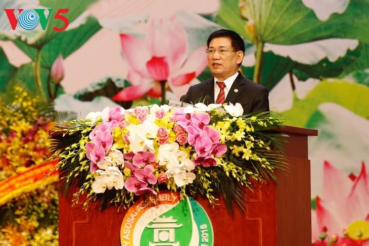 เวียดนามดำรงตำแหน่งประธาน ASOSAI วาระปี 2018-2021 - ảnh 1