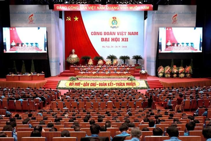 เปิดการประชุมใหญ่สหภาพแรงงานเวียดนามสมัยที่ 12 - ảnh 1