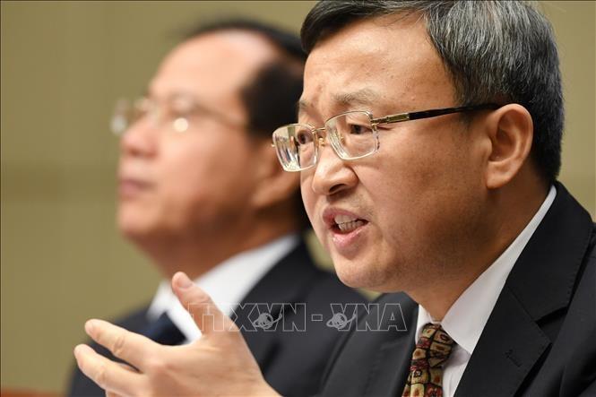 จีนประกาศว่า การเจรจาการค้ากับสหรัฐต้องอาศัยความยุติธรรม - ảnh 1