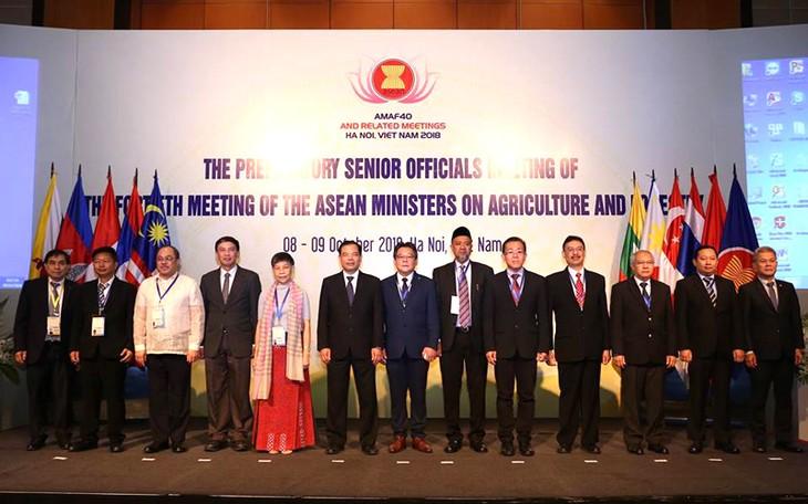 การประชุมเจ้าหน้าที่อาวุโสด้านการเกษตรอาเซียน - ảnh 1