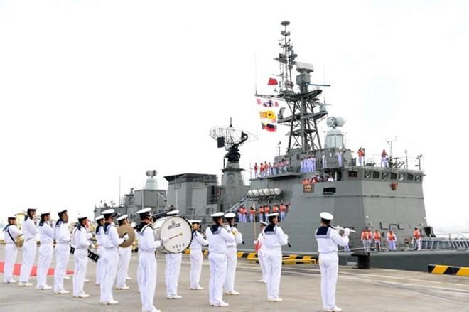 อาเซียน-จีนเสร็จสิ้นการฝึกซ้อมร่วมทางทะเล - ảnh 1