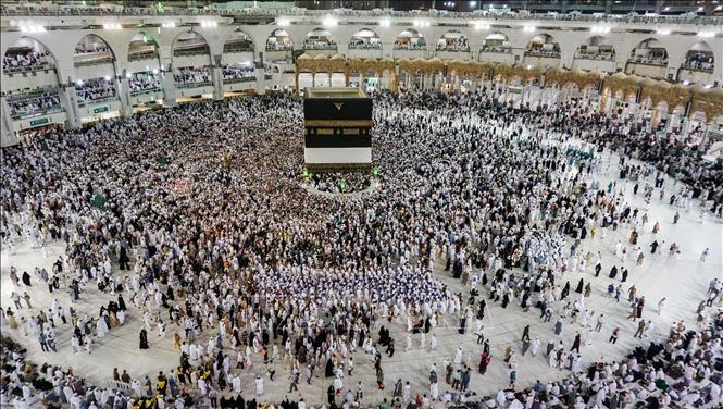ซาอุดิอาระเบียห้ามชาวมุสลิมจากอิสราเอลและปาเลสไตน์เดินทางมายังนครเมกกะ - ảnh 1