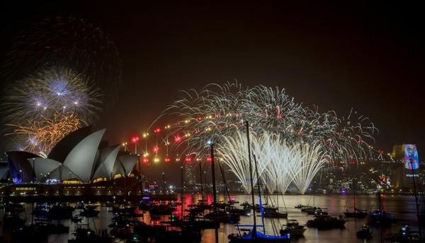 ประเทศต่างๆฉลองปีใหม่2019 - ảnh 1