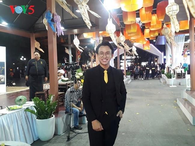 พบปะกับพิธีกร กวางบ๋าว  ทูตการท่องเที่ยวของไทยปี 2019 ณ  เวียดนาม - ảnh 3