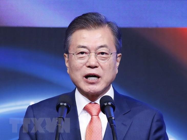 ประธานาธิบดีสาธารณรัฐเกาหลีจัดการประชุมสุดยอดพิเศษกับบรรดาผู้นำอาเซียน - ảnh 1