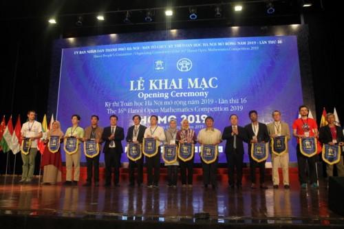 นักเรียนเกือบ 660 คนเข้าร่วมการแข่งขันคณิตศาสตร์ฮานอย 2019 - ảnh 1