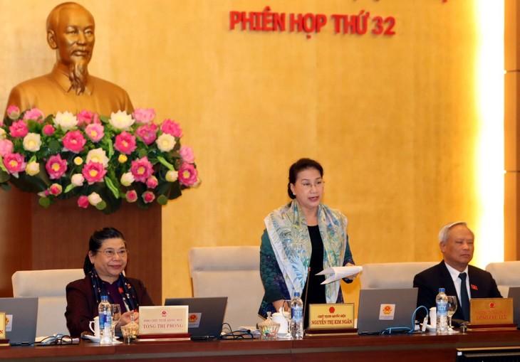 การประชุมครั้งที่ 33 คณะกรรมาธิการสามัญสภาแห่งชาติเวียดนามสมัยที่ 14 - ảnh 1
