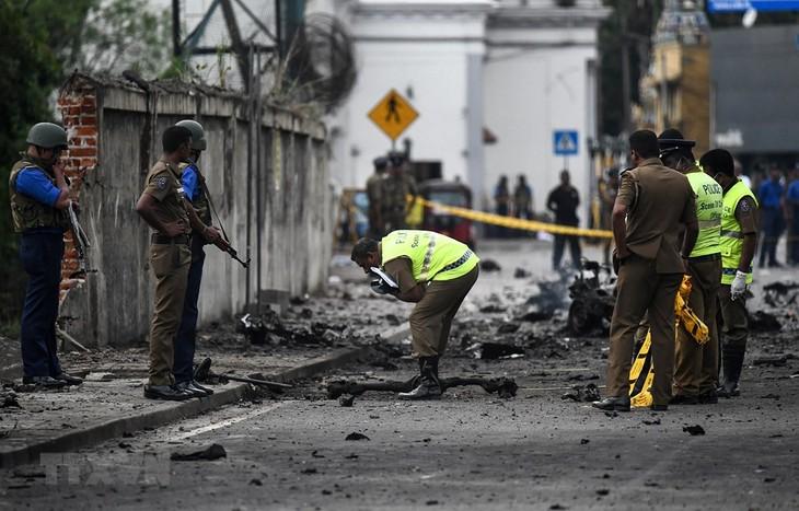 กลุ่มไอเอสประกาศรับผิดชอบต่อเหตุระเบิดในประเทศศรีลังกา - ảnh 1
