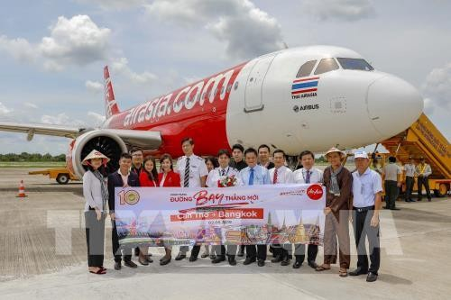 Air Asia เปิดเส้นทางบินตรงนครเกิ่นเทอ-กรุงเทพฯ - ảnh 1