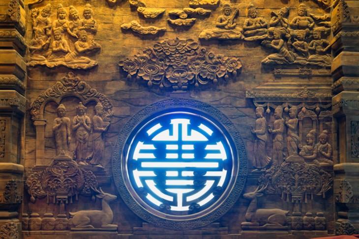 เขตท่องเที่ยวเชิงจิตวิญญาณ วัดตามชุก สถานที่จัดงานวิสาขบูชา ๒๐๑๙ - ảnh 8