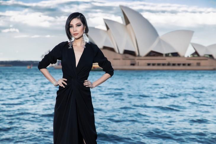 H'Hen Niê nổi bật trong show diễn của NTK Đỗ Mạnh Cường ở Sydney - ảnh 12