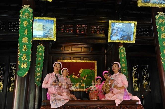 เทศกาลจัดแสดงมรดกทางวัฒนธรรมนามธรรมแห่งมนุษยชาติ ณ จังหวัดแค้งหว่า - ảnh 1