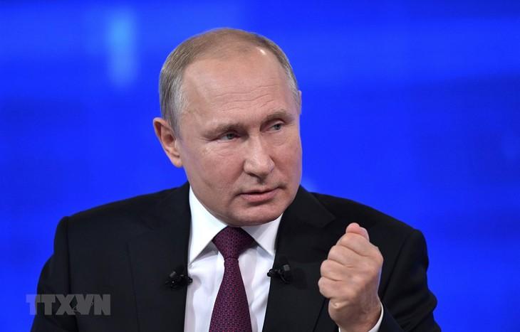 ประธานาธิบดีรัสเซียขยายการคว่ำบาตรต่ออาหารที่นำเข้าจากอียู - ảnh 1