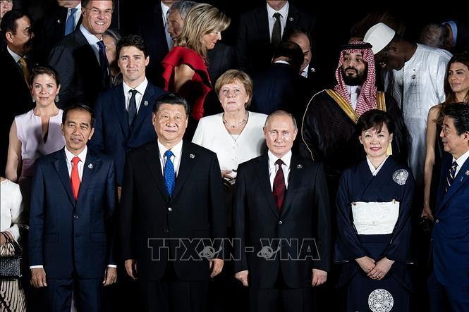 """การประชุมจี 20: ผู้นำแคนาดาและจีนหารือ """"อย่างมีประสิทธิภาพ"""" - ảnh 1"""