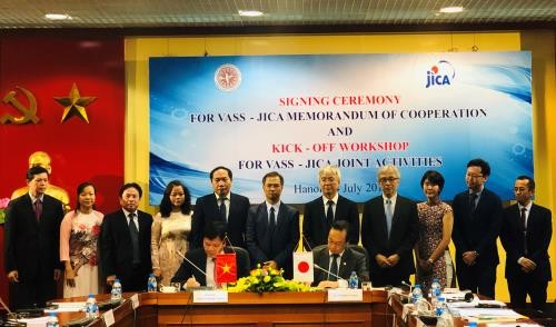 ญี่ปุ่นให้การช่วยเหลือผลักดันการพัฒนาอย่างยั่งยืนของเวียดนาม - ảnh 1