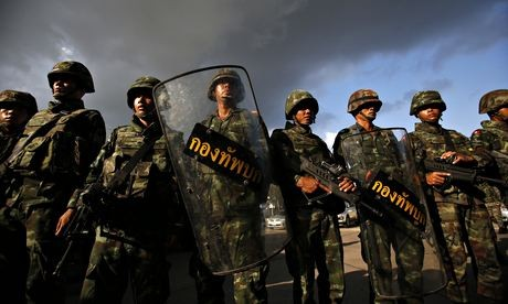 World voices concern about military coup in Thailand - ảnh 1