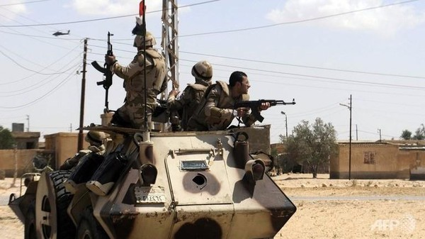 Egyptian securities forces kill extremists in Sinai - ảnh 1