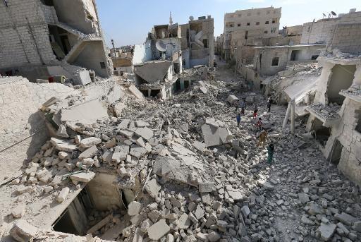 UN envoy in Syria to seek Aleppo truce - ảnh 1