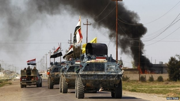 Iraqi forces regain control of Tikrit from Islamic State - ảnh 1