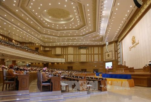Myanmar parliament approves nominees of cabinet members - ảnh 1