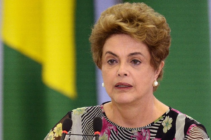 Brazil's Senate suspends President Dilma Rousseff - ảnh 1