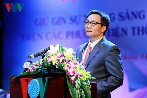 Seminar seeks to preserve Vietnamese language's nature on media - ảnh 2